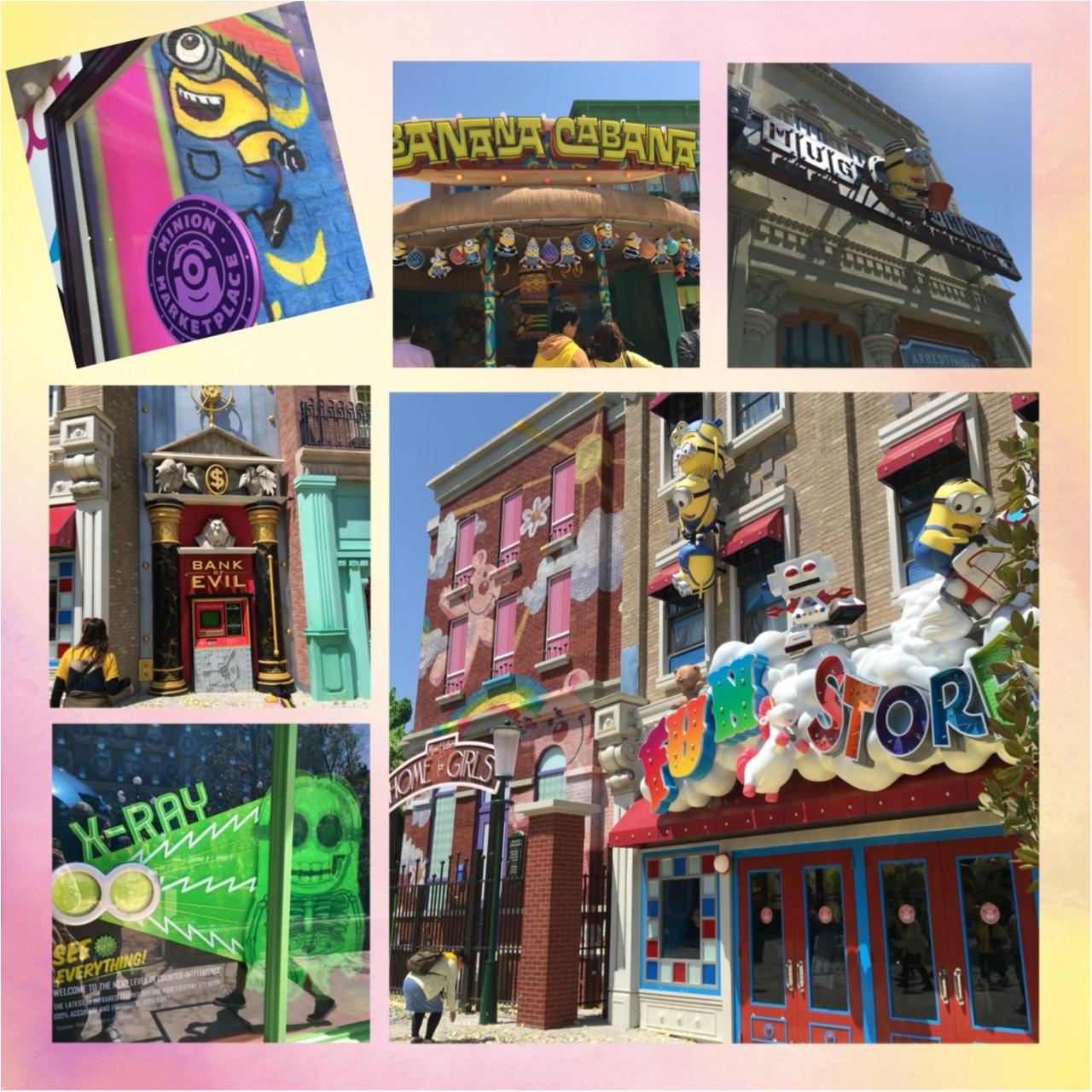 <4/21グランドオープン!>世界最大のハチャメチャエリア♡USJミニオン・パークに行ってきました!♡_8