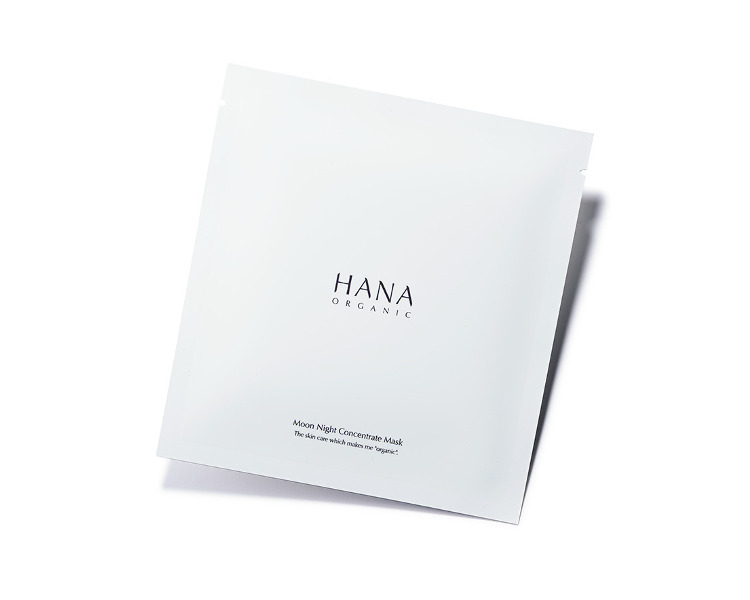 美肌菌を増やして活性化するコスメ3. HANA オーガニック「ムーンナイトコンセントレイトマスク」