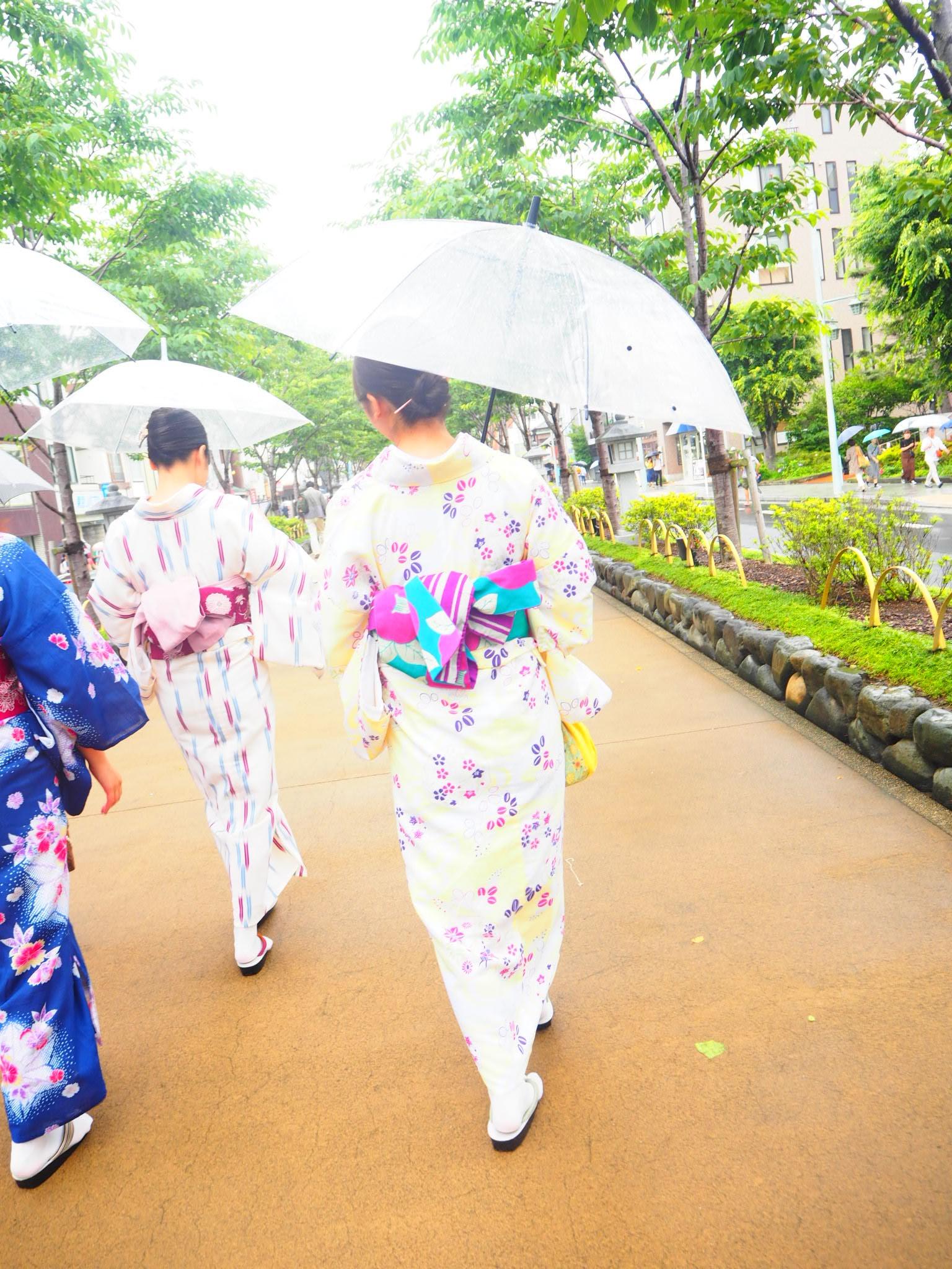 夏着物で鎌倉女子旅♡  紫陽花がとっても綺麗でした♡_18