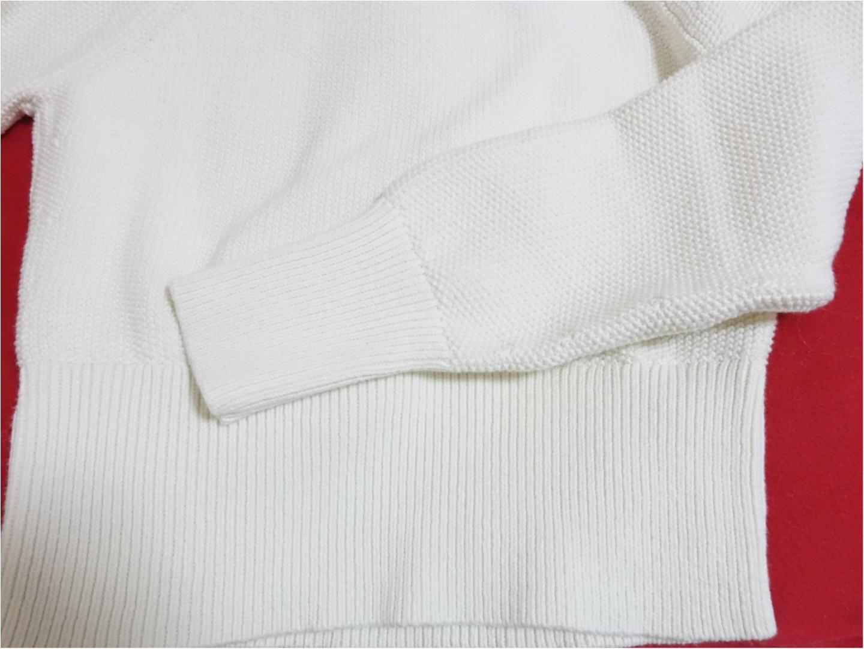 【Uniqlo U】から目が離せない!発売日に購入できた《今から使える白アイテム》が、最強に可愛いのです!_3