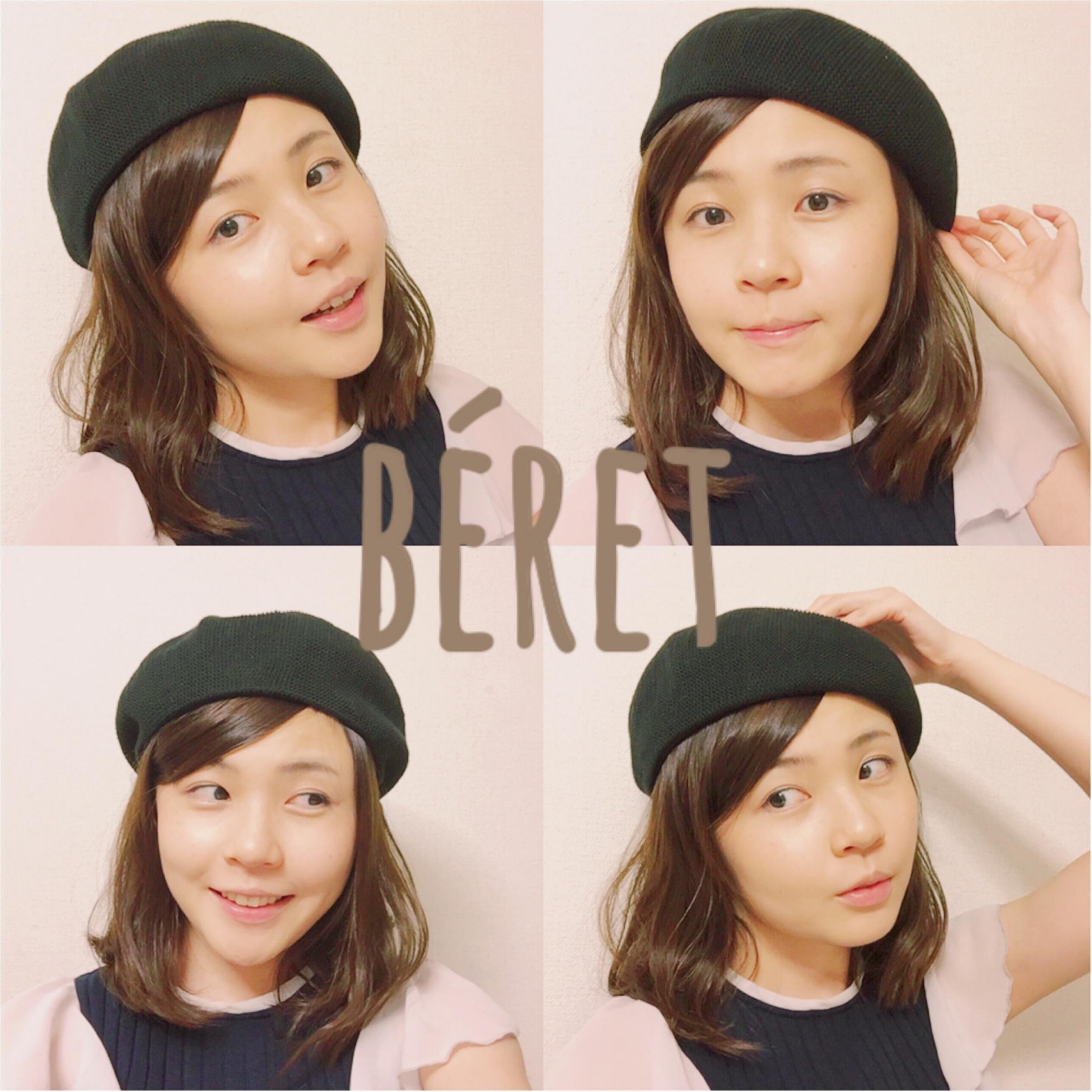 夏だってベレー帽をかぶりたい!これひとつで辛口コーデが可愛くなる♡_7