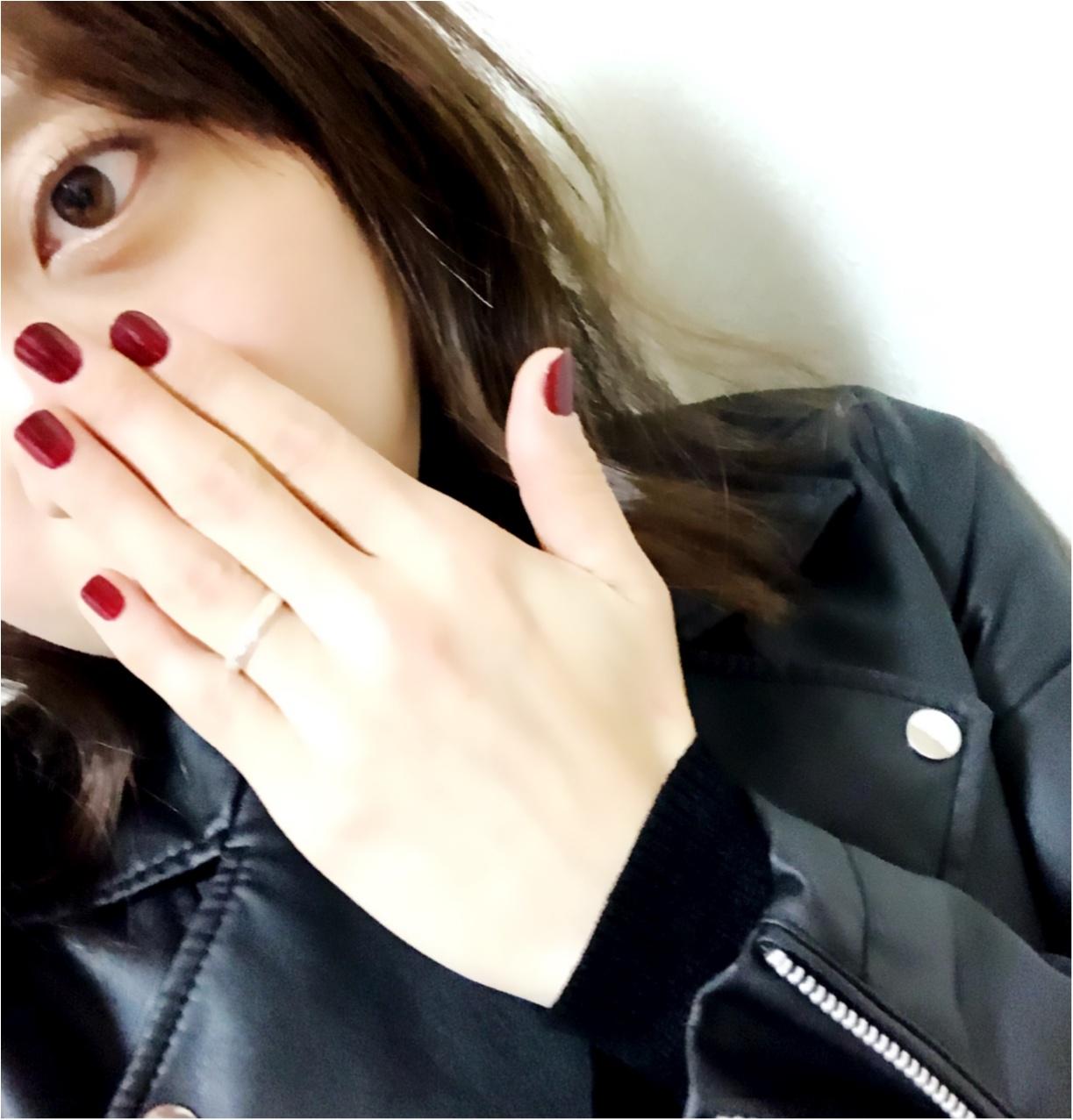 """《まっくろコーデ》の差し色には""""ほめられボルドー""""を♡_2"""