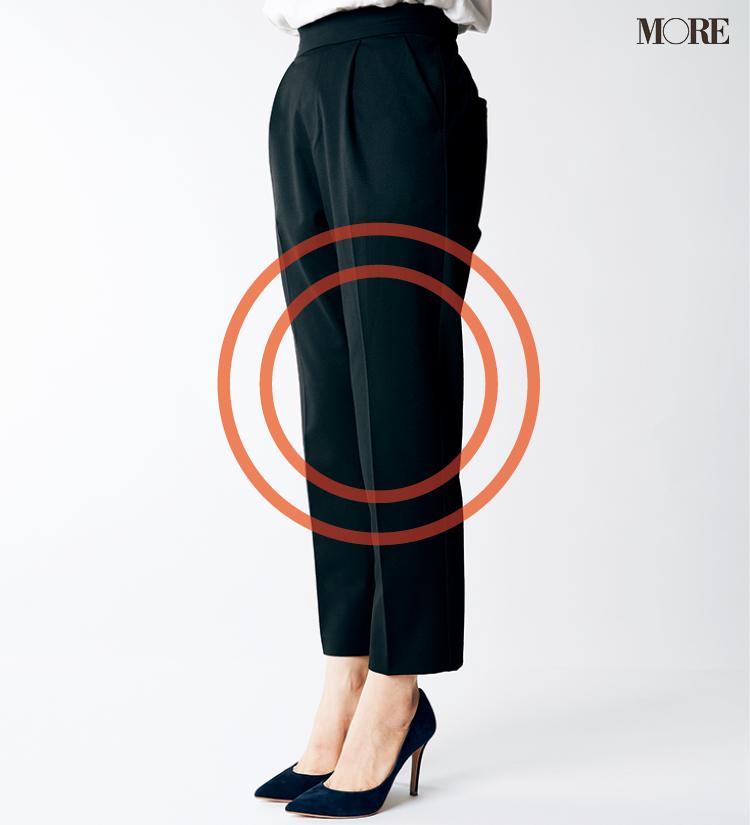テーパードパンツ&フレアパンツ、どの靴と合わせるのがいちばんきれい? 全部の相性比べてみました!_4_5