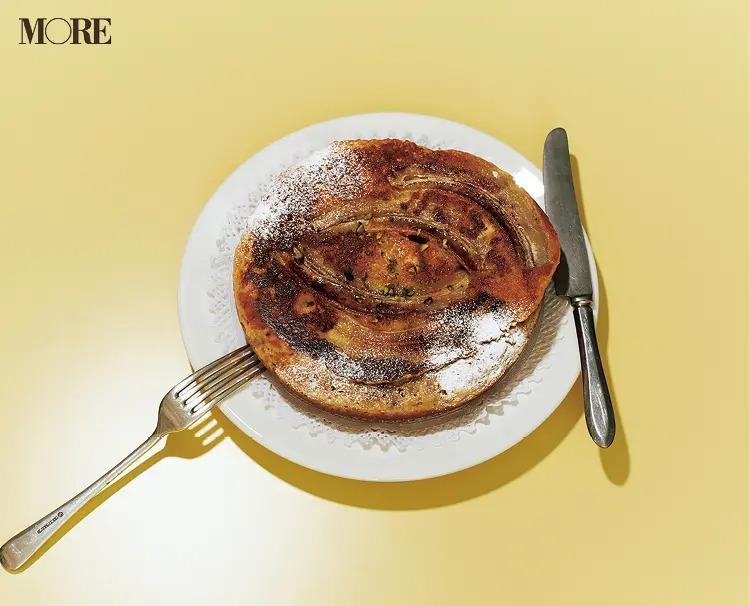 簡単スイーツレシピで作ったまるごとバナナケーキ