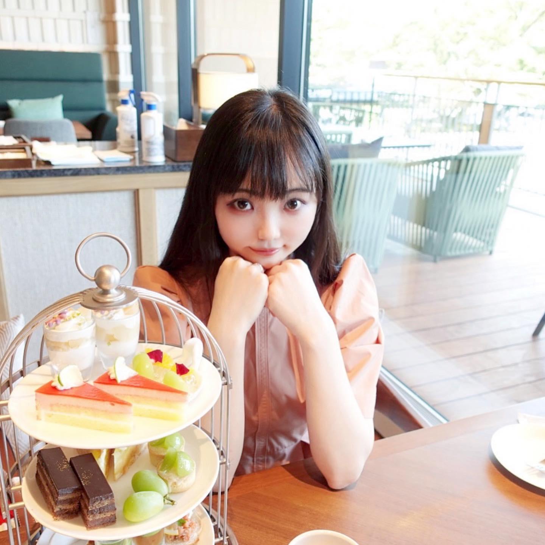 軽井沢プリンスホテル夏の桃とシャインマスカットのアフタヌーンティーがかわいくて美味しい★【長野】_7