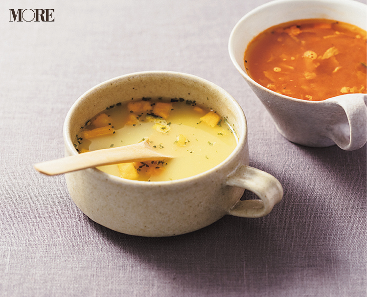 『無印良品』の商品で作ったスープ