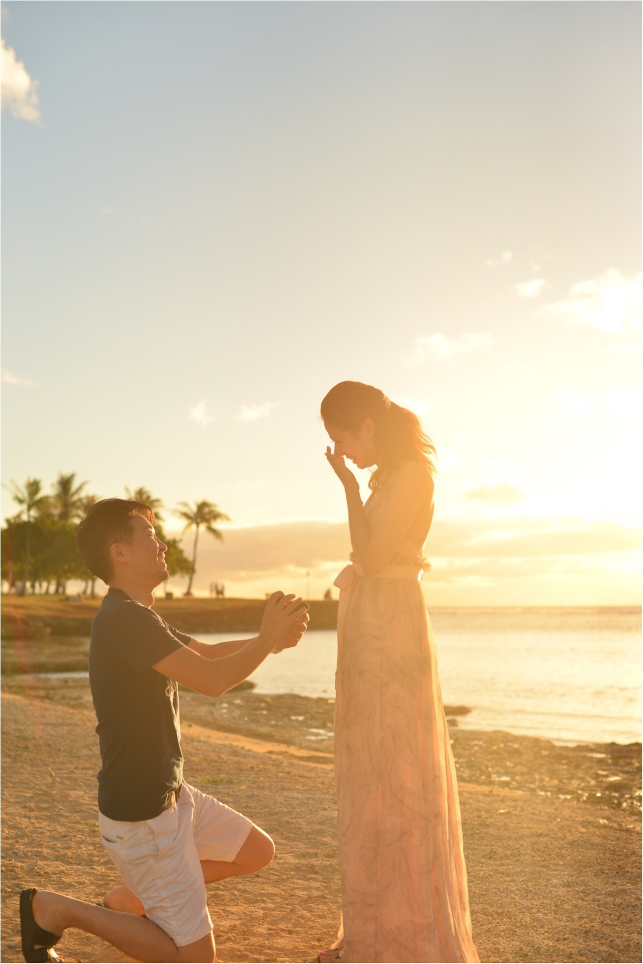 ハワイ旅行でサプライズプロポーズしてもらいました♡ _1