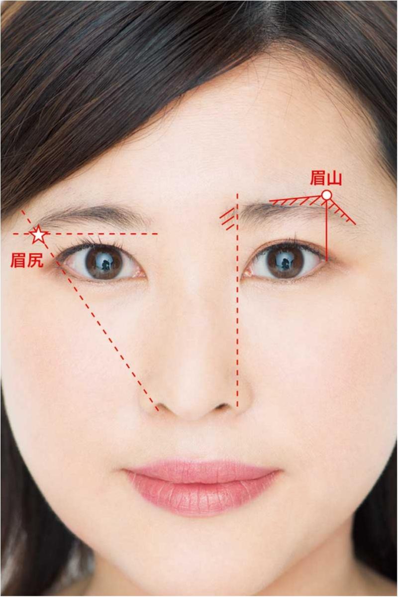 面長さんも遠心顔さんも、眉を変えるだけでOK!! お悩み解消「劇的小顔」テクニック♡_9_1