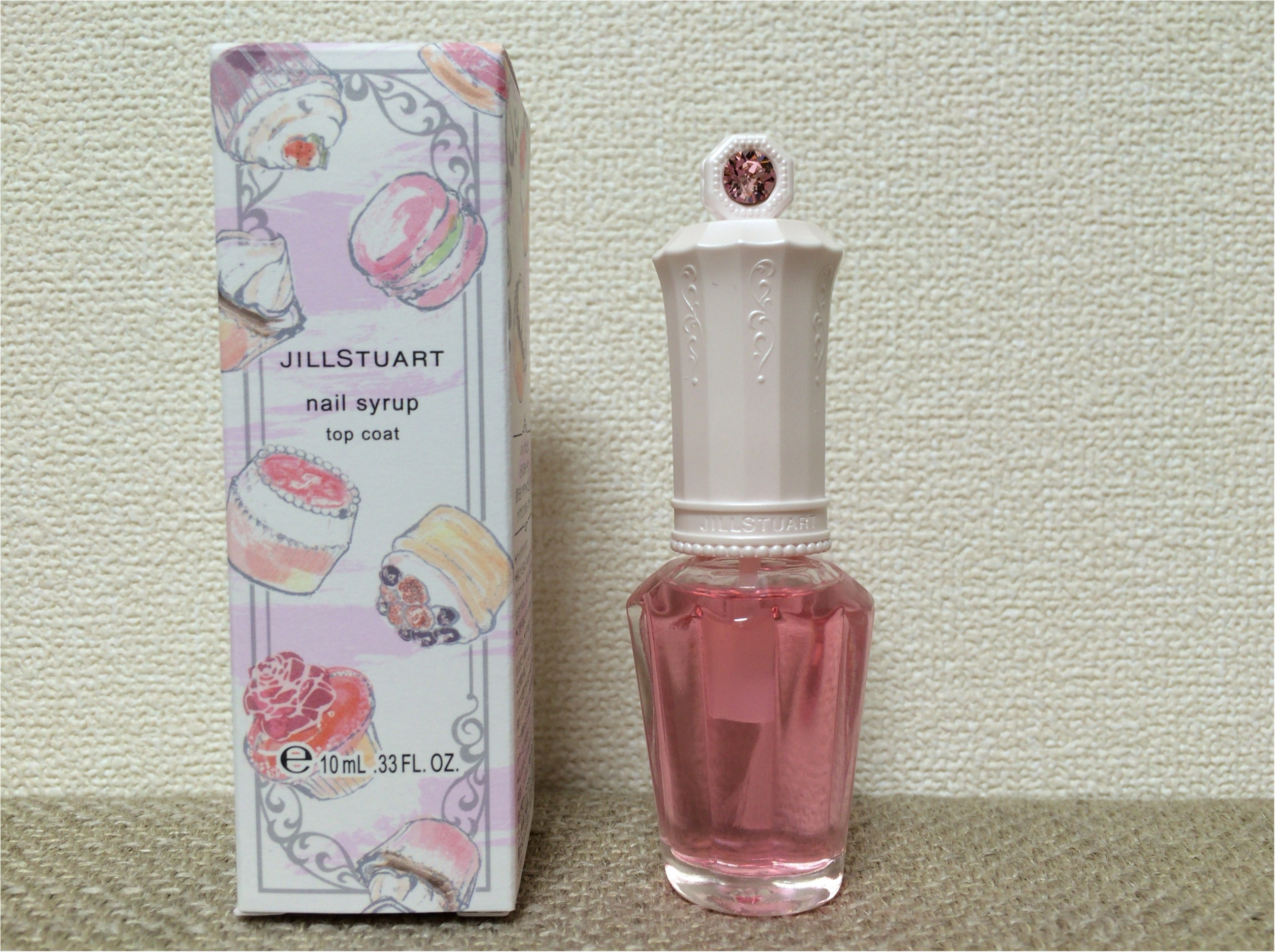 【ジル春コレ】まるで、ストロベリーシロップ♡なピンクが可愛すぎ!限定《トップコート》_4