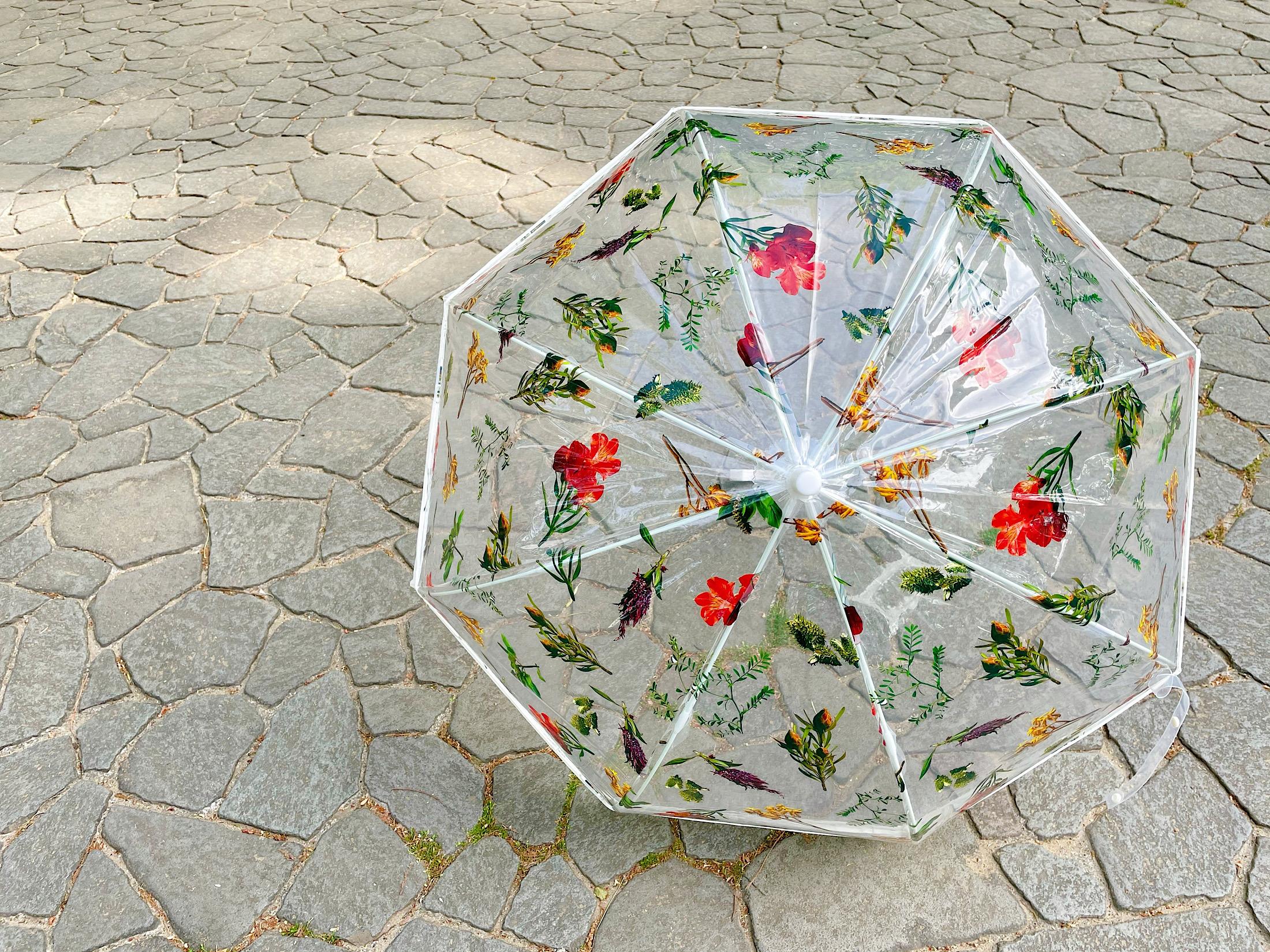 【雨空に花が咲く!?】《フラワーアートとコラボした傘》がおすすめ♡_2