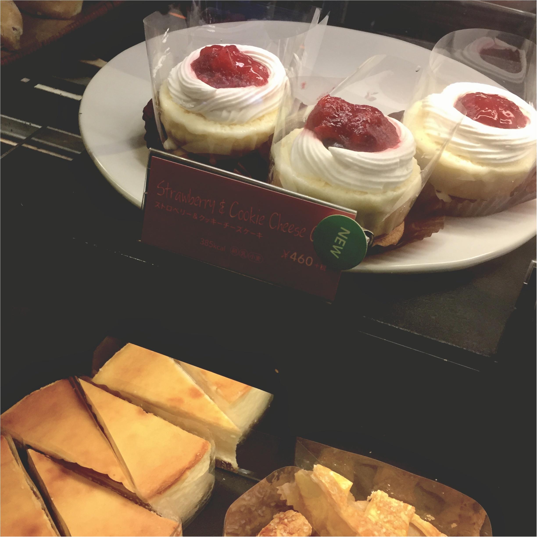 """【FOOD】もう食べた?スタバの""""ストロベリー&クッキーチーズケーキ""""_1"""
