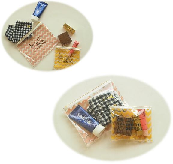 «今すぐGET!»100円ショップDAISO(ダイソー)のNEWポーチが夏らしくて可愛い!_4