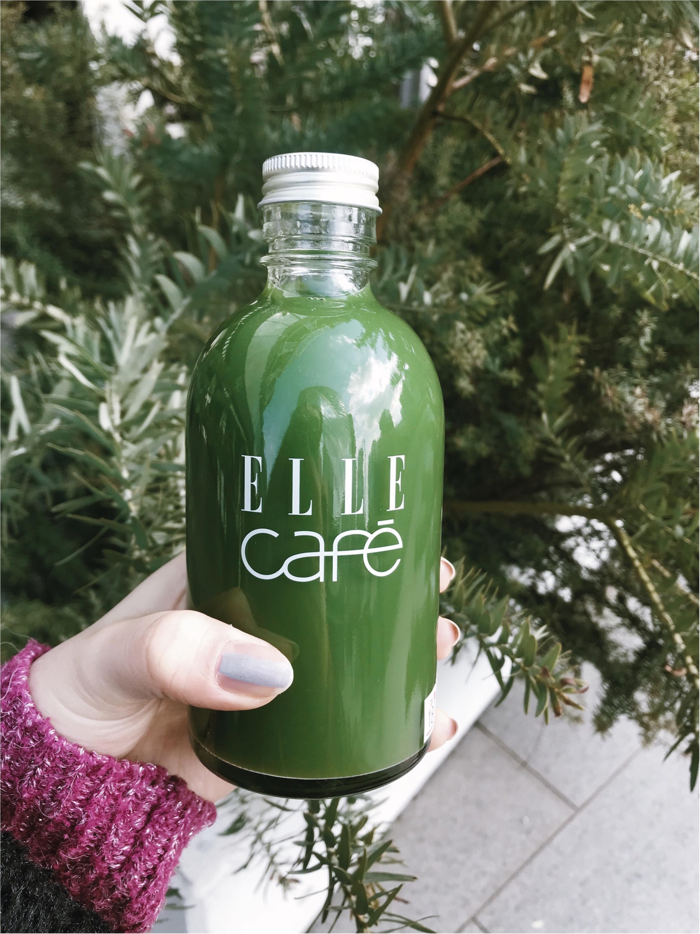 【内側から美しく】ELLE CAFEで話題スムージーボンボンではなく!カラダに良いアレを買ってきました✩_4