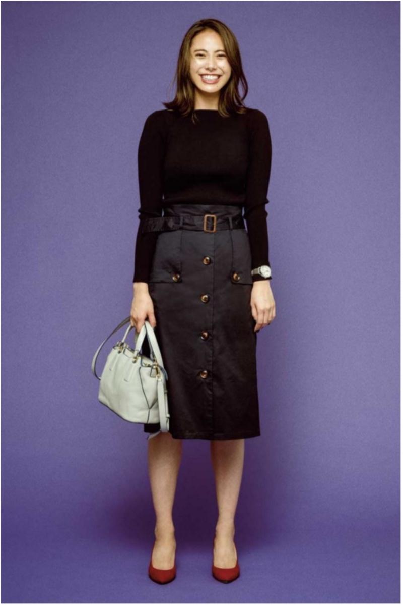 ちょっと上のおしゃれも目指せる! 旬の【トレンチスカート】コーデ15選 | ファッション(2018年秋)14