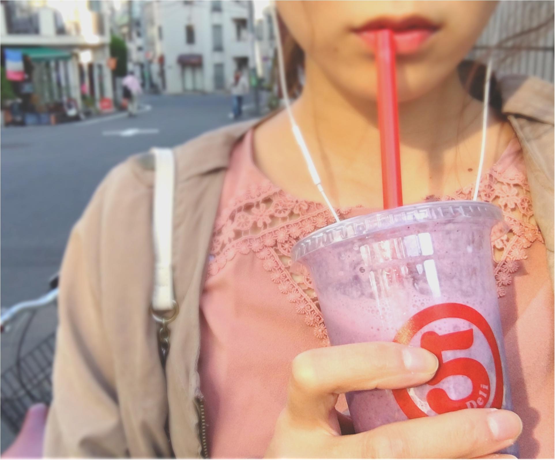 """""""最高においしいジュース""""ならココ!【marugo deli ebisu】の《フレッシュスムージー》でキレイを補給❤️_5"""