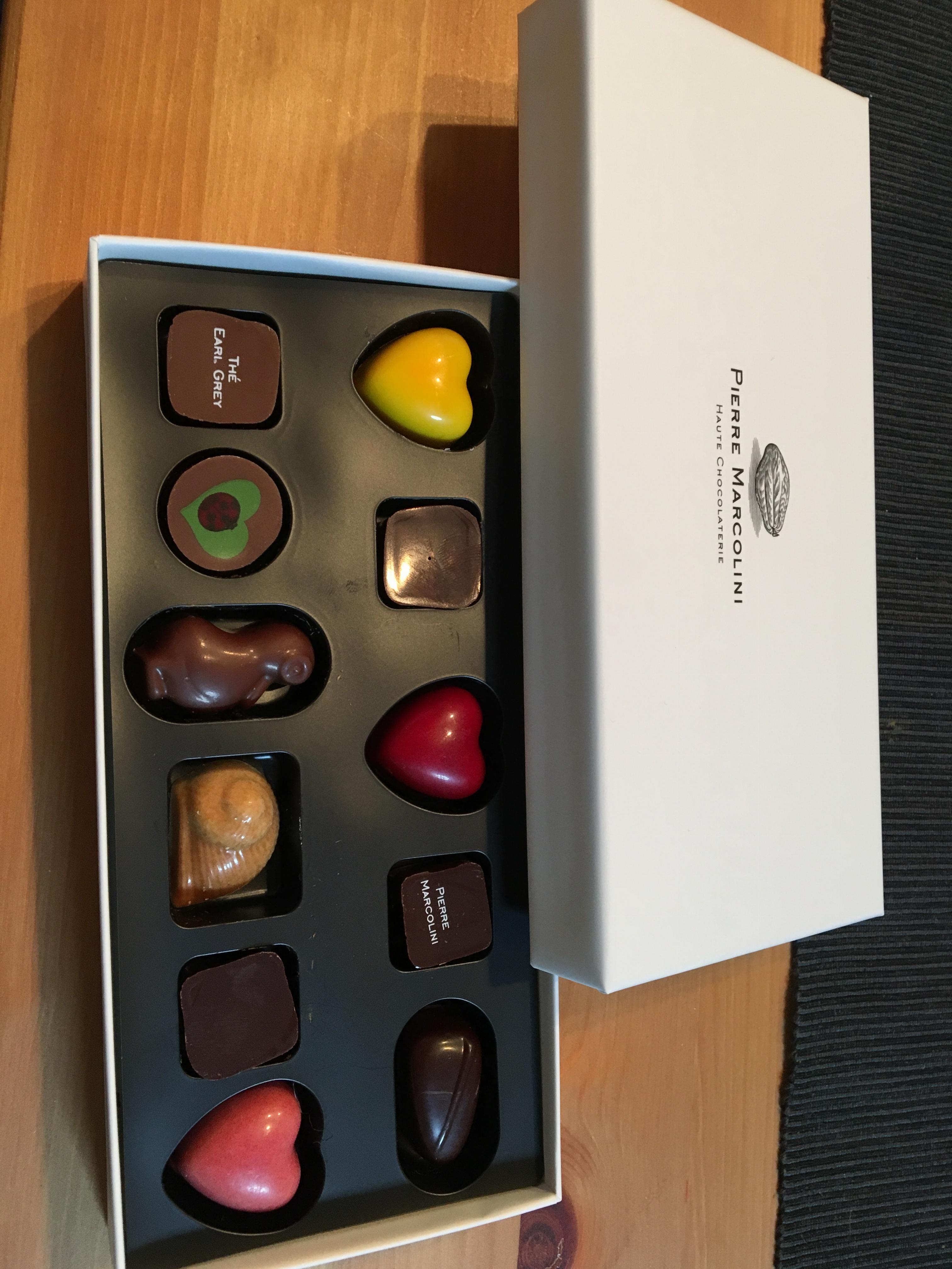 ピエールマルコリーニのチョコレート♪_1