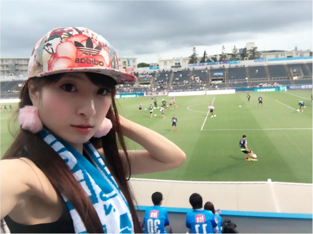 ♡【サッカー観戦】横浜FCvs水戸ホーリーホック♡モアハピ◡̈のぞみ♡_9