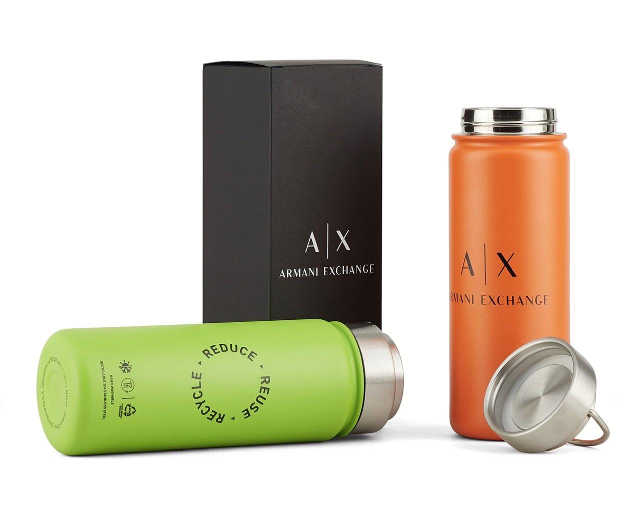 『A|X アルマーニ エクスチェンジ』オリジナルのサーマルボトルがもらえるサステイナブルなキャンペーンスタート!_2