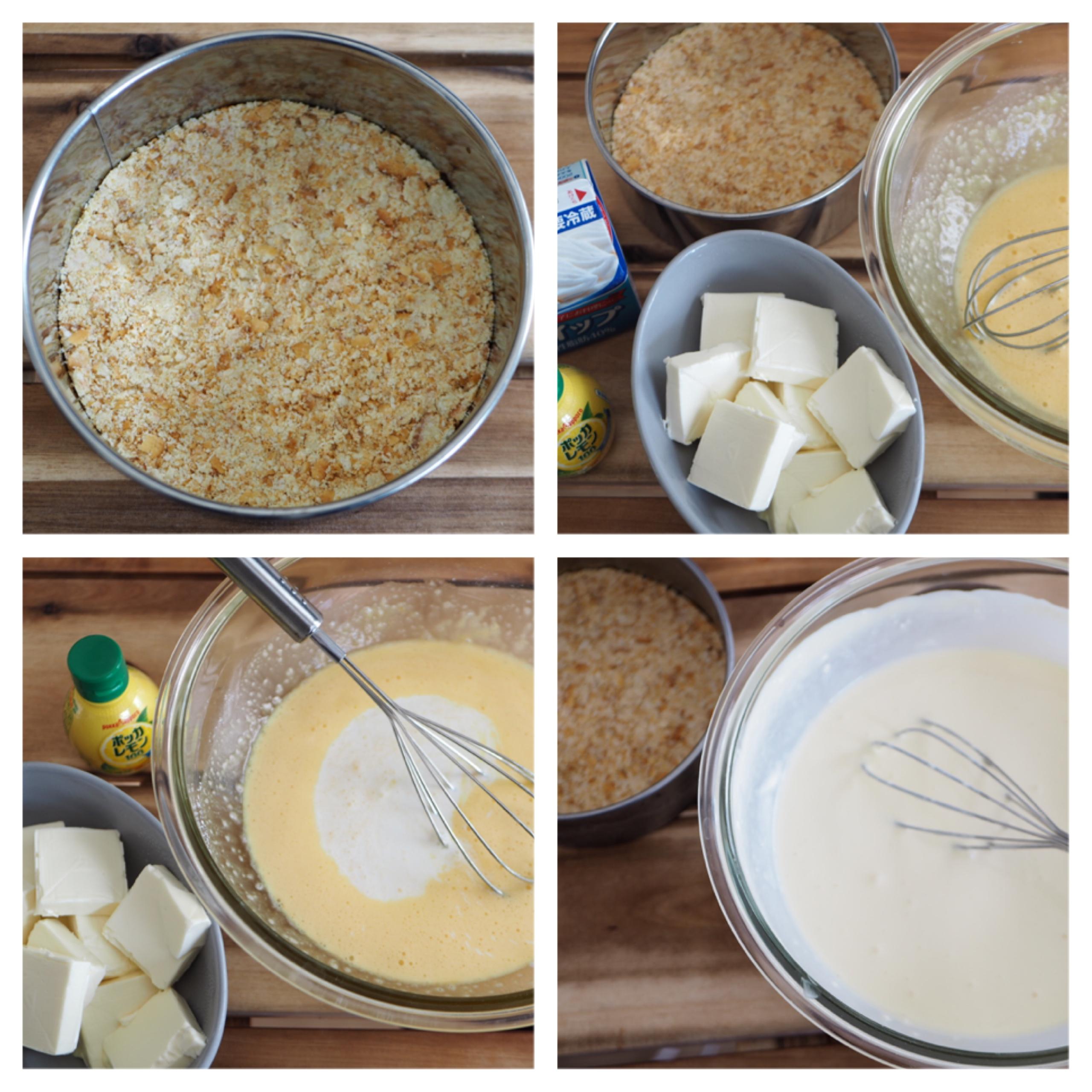 材料混ぜて焼くだけ!本格的な味わい♡【手作りベイクドチーズケーキ】のおすすめレシピ♡_4