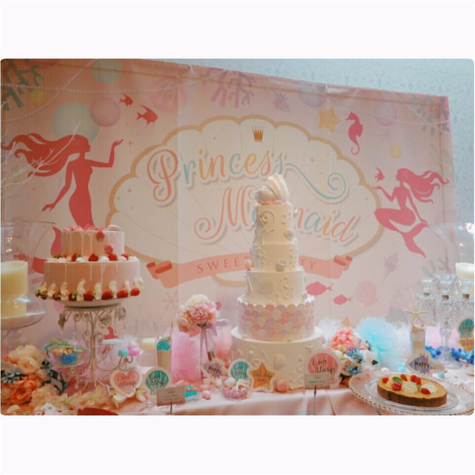 《可愛いすぎる♡♡♡》プリンセスマーメイドスイーツパーティで素敵な時間を♡_6