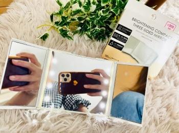 『ダイソー』の女優ミラー、コンパクトサイズが発売♪ 『BLOOMBOX』の感想は? 【今週のMOREインフルエンサーズビューティ人気ランキング】