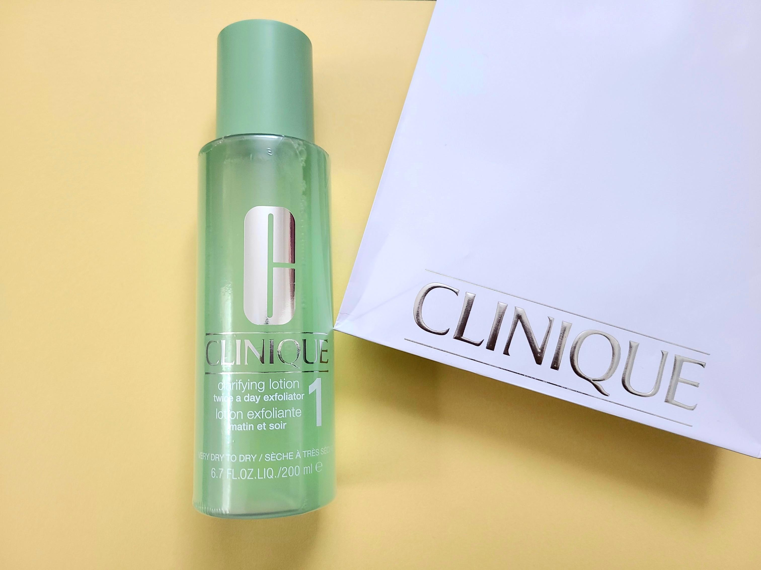 2021年は、《CLINIQUE》の拭き取り化粧水でおうちスキンケア☆_2