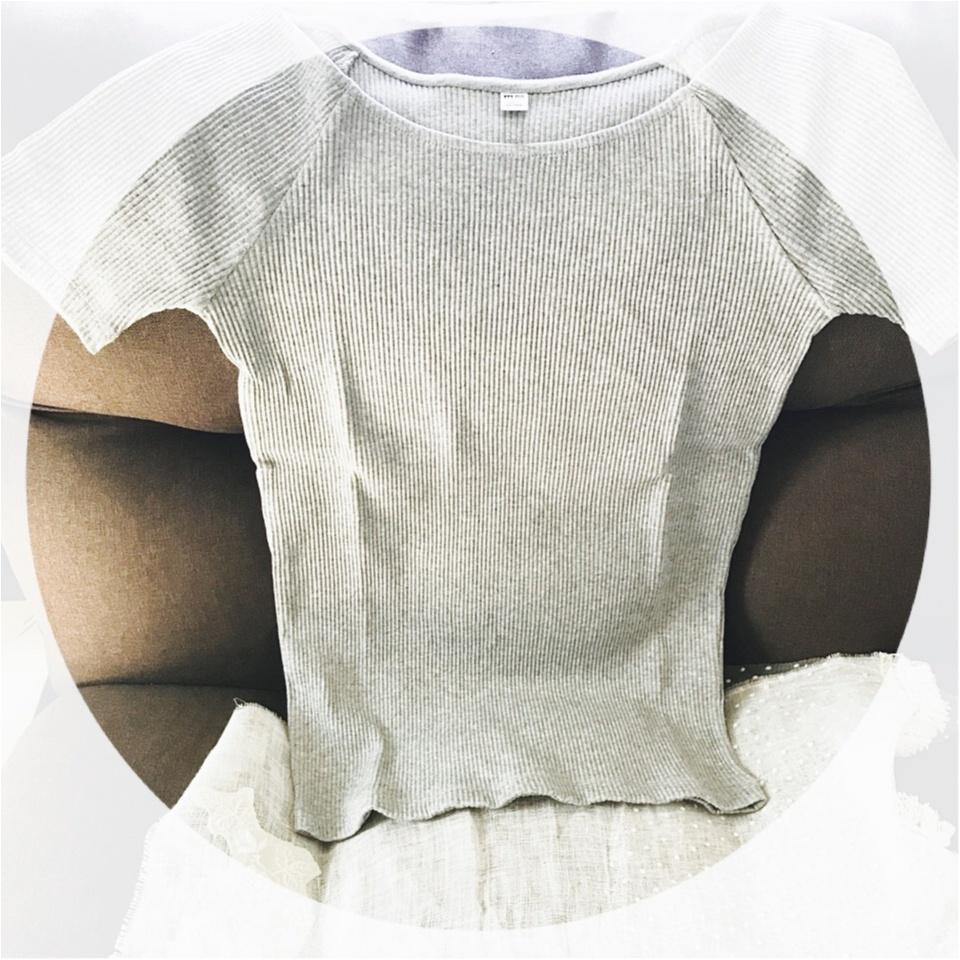 …ஐ 【UNIQLO】5/25まで!!リブバレエTシャツを特別価格で夏を楽しもう‧⁺ ஐ¨_1