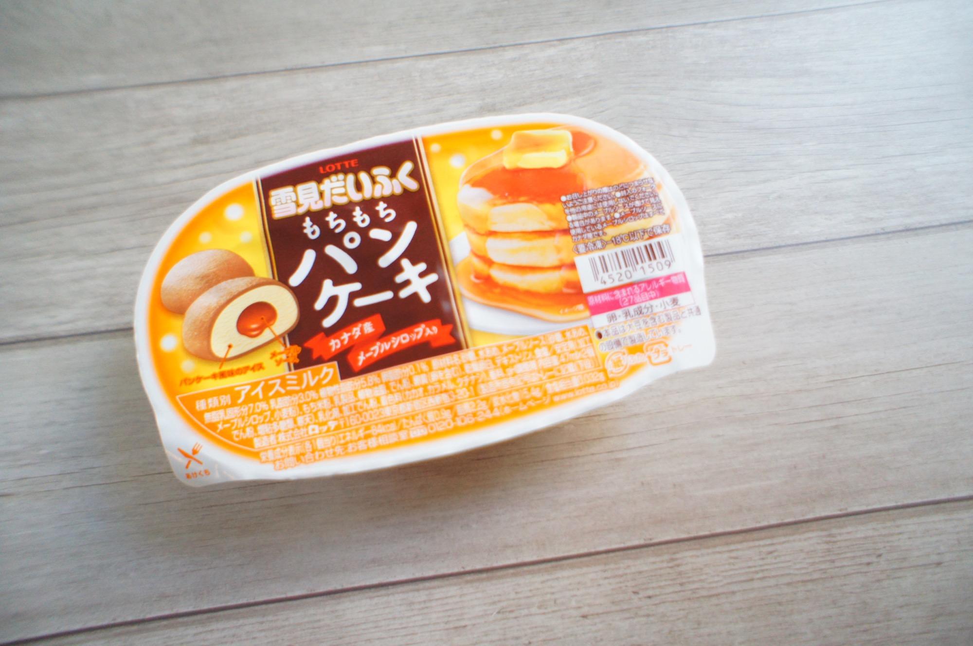《発売前から話題沸騰❤️》新作アイス!【雪見だいふく】もちもちパンケーキを食べてみました☻_1