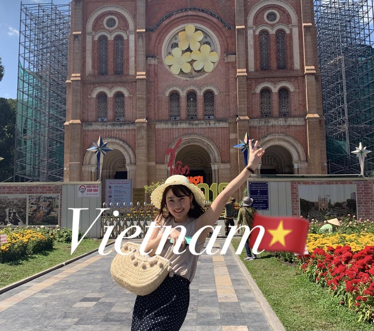 ベトナムホーチミンで撮った写真