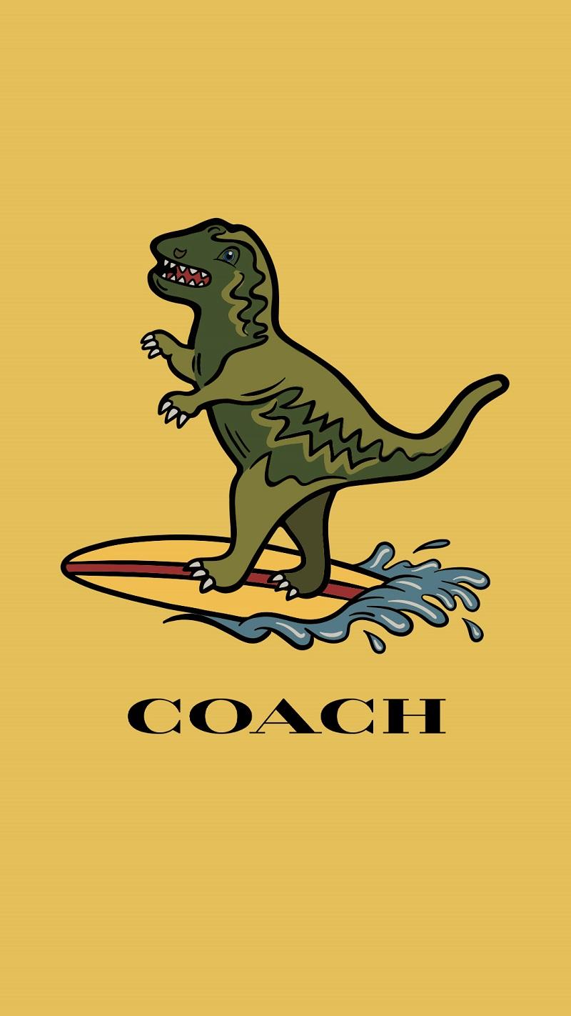 コーチ日本限定コレクション、Rexy Playの壁紙