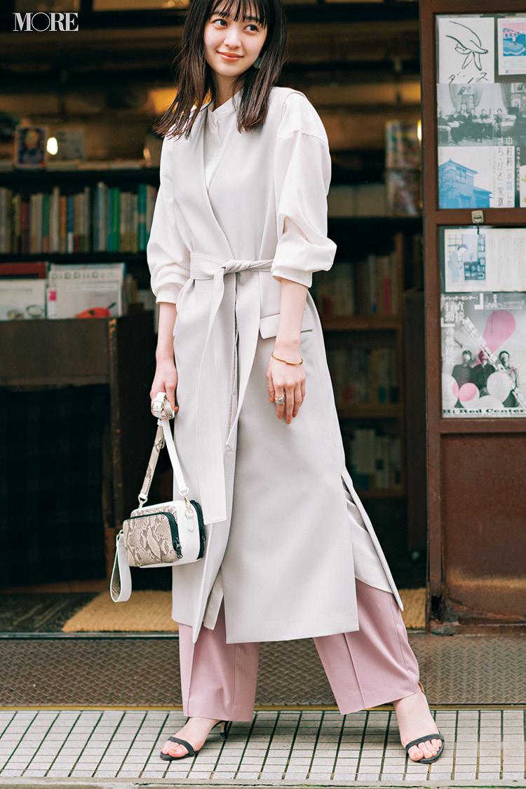 【今日のコーデ】<逢沢りな>白とピンクの相思相愛コーデならオンオフ問わず好印象に♡_1