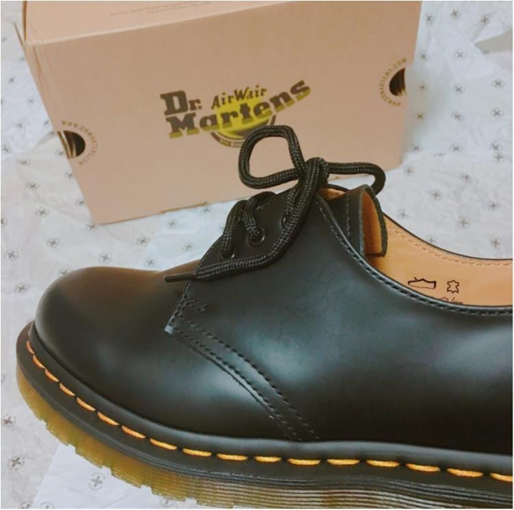 最後の記事はもちろん大好きな靴がテーマ♡《世界の靴好きがこよなく愛する老舗の1足》ドクターマーチンの純正3ホールをお買い上げ♡人気サンダルもご紹介します♡_1