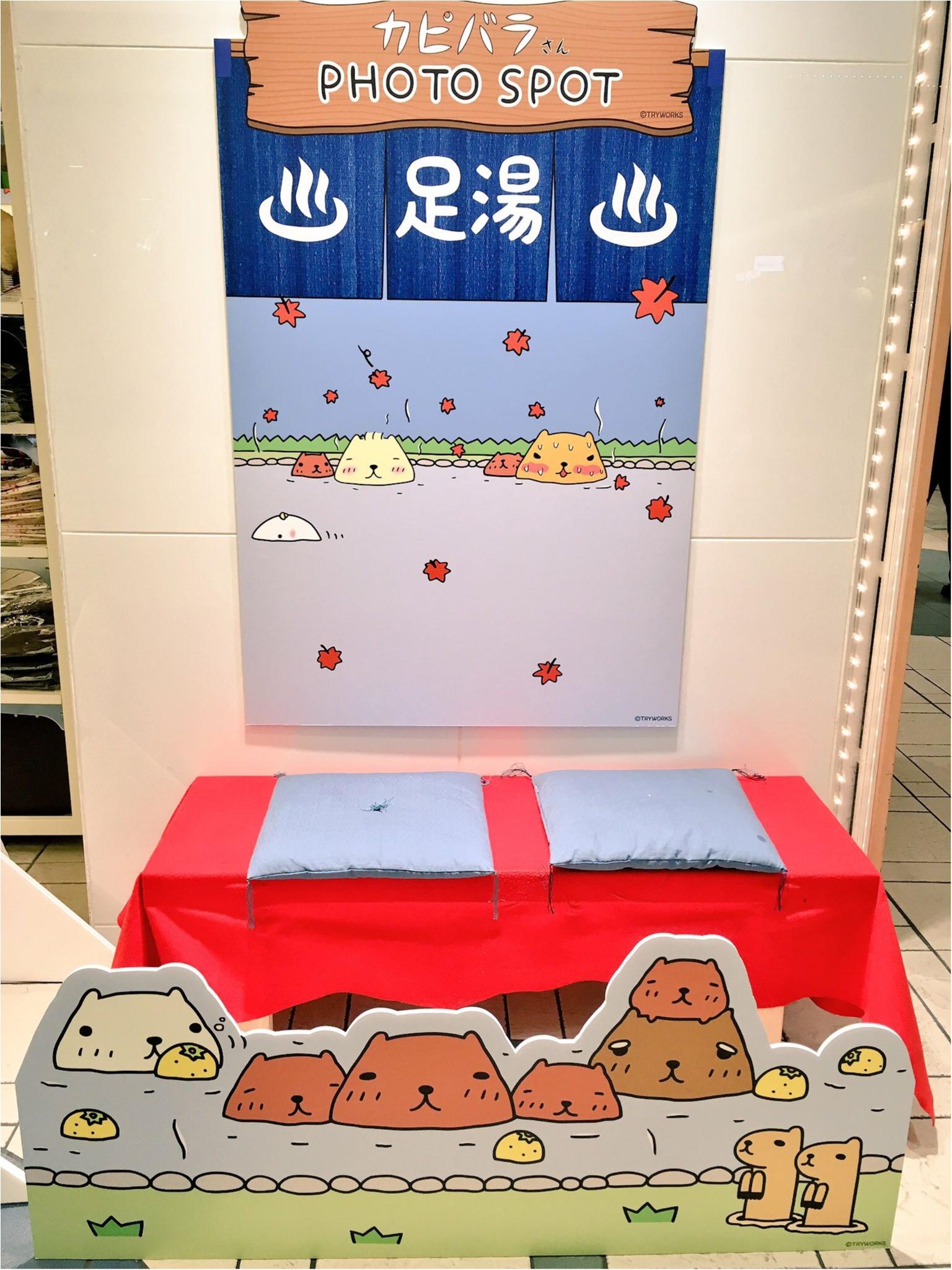 『カピバラさん×東京駅』作者チダケイコ先生サイン会&Calbeeプラスに行ってきました(*´ ˘ `*)♡_3