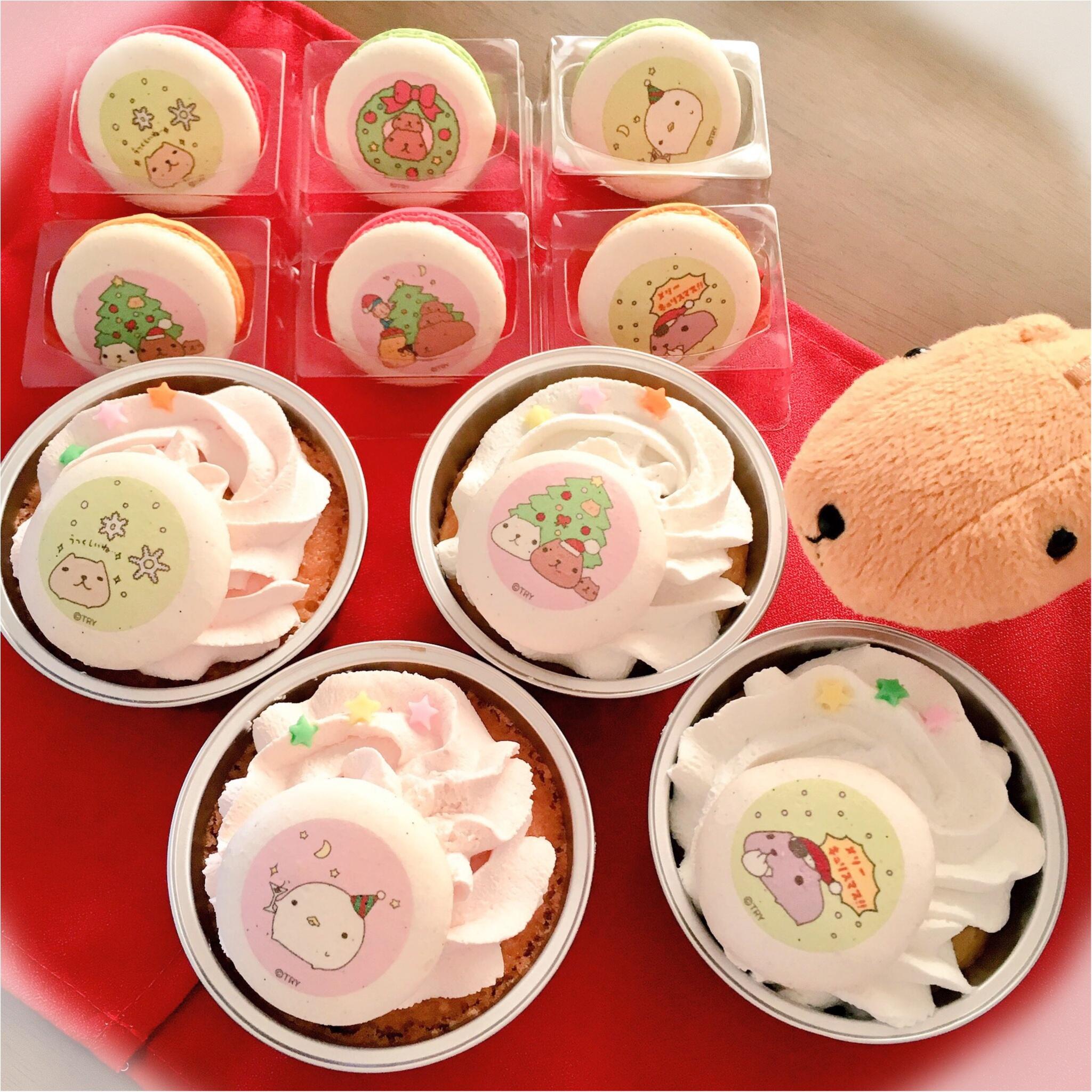 【キャラクター】クリスマスにはかわいいカピバラさんケーキで盛り上がっちゃおう(*>ω<*)♡ 【ケーキ】_1