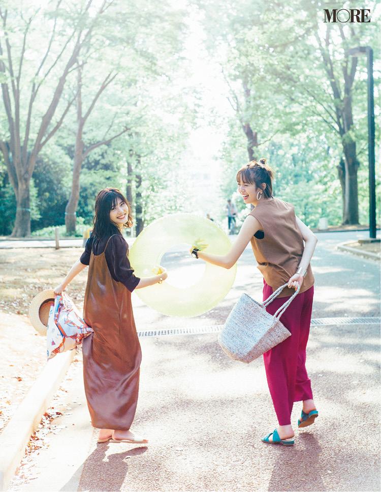 佐藤ありさがお手本! 夏のシャツコーデ Photo Gallery_1_5