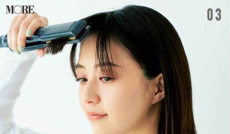"""""""前髪がうねる問題""""とさよならする方法! 朝セットしたスタイルが長時間続くヘアスプレーのおすすめも_4"""