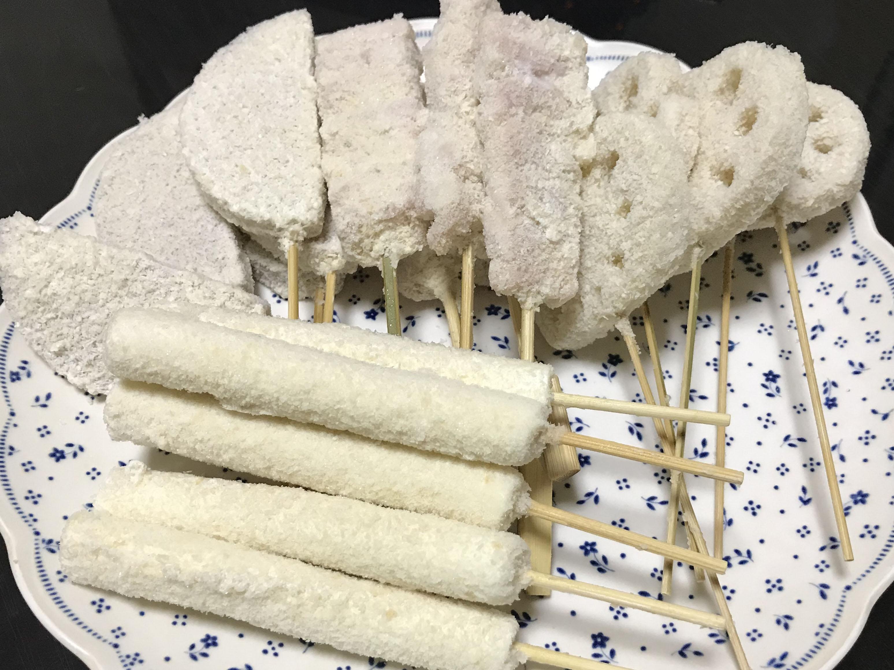 串カツ(冷凍状態)