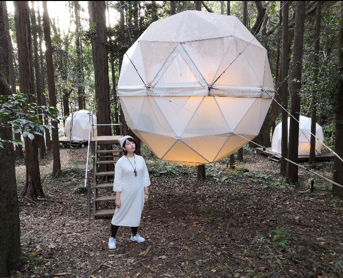 【女子旅におすすめ】森に浮かぶテントに泊まれちゃう♡《INN THE PARK》@沼津_10