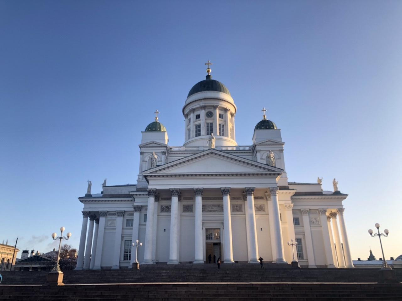 私が撮ったヘルシンキ大聖堂の写真