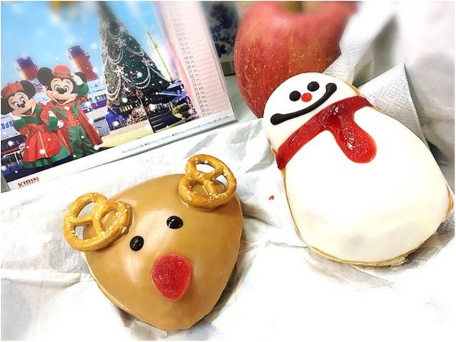 クリスマス限定!かわいすぎるトナカイ&スノーマンドーナッツ_2