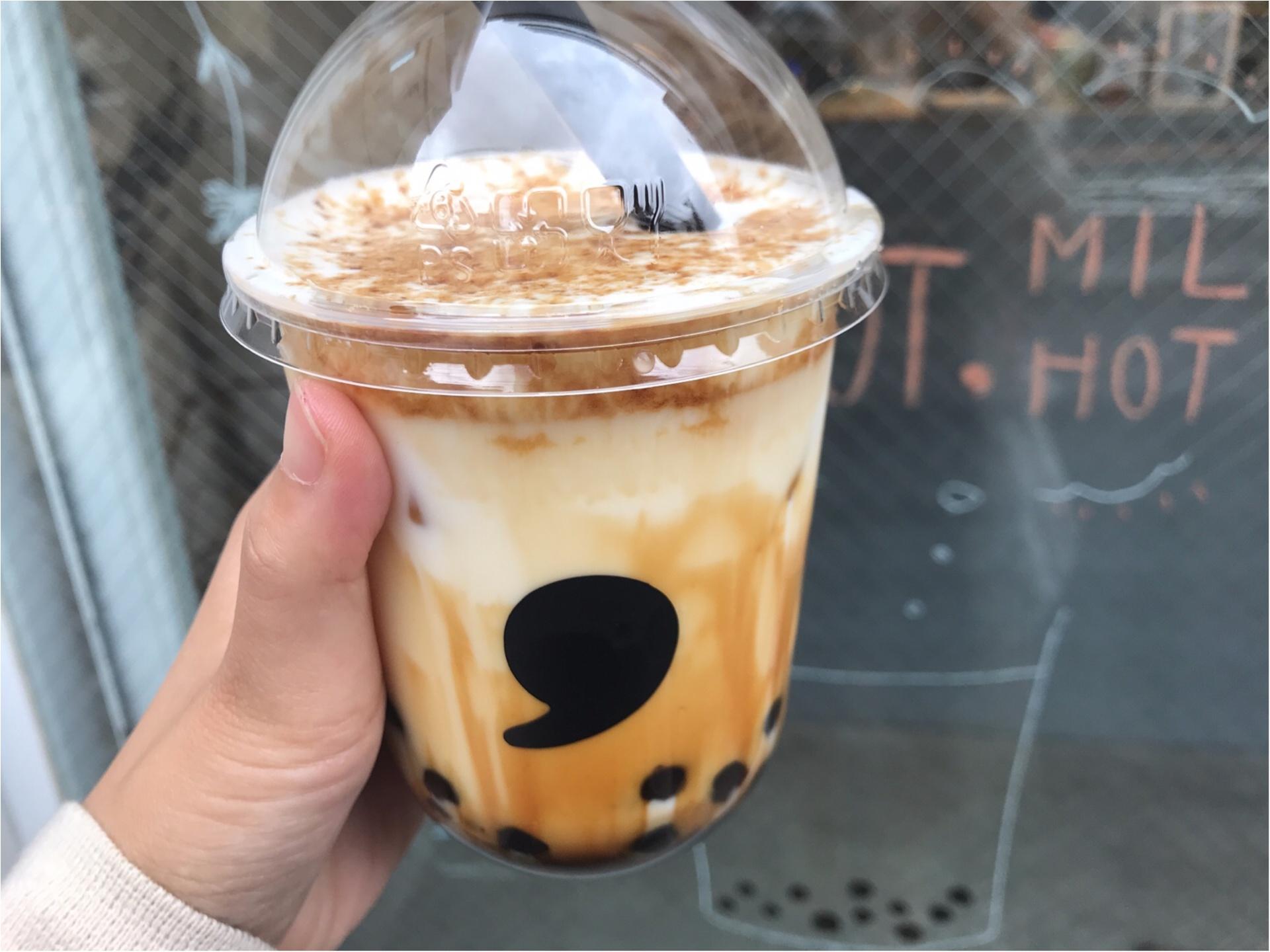 【コンマティー(comma tea)】日本初!《焦がし黒糖タピオカラテ》が絶品なんです♡_5