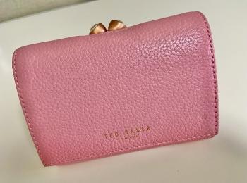【20代女子の愛用財布】絶妙なサイズ感と驚きの収納力『TED BAKER』のお財布