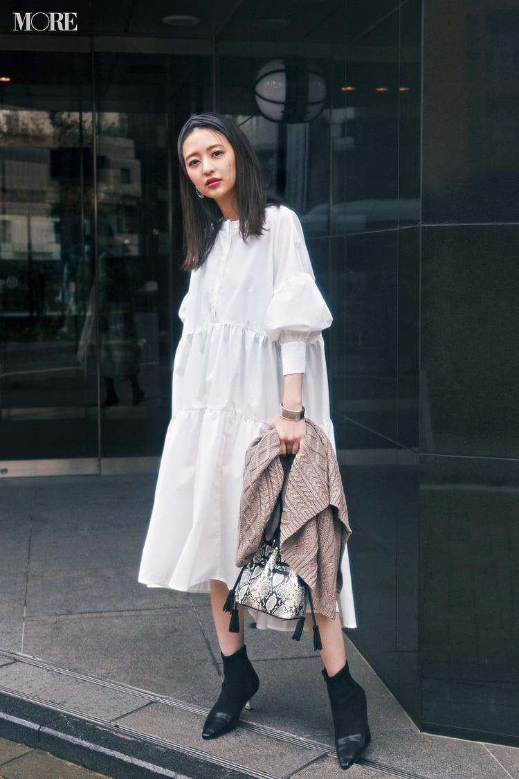 シャツワンピースの着こなし術【2020春】- 今年イチオシの色・形は? とびきり今っぽくておしゃれな最新ファッションまとめ_21