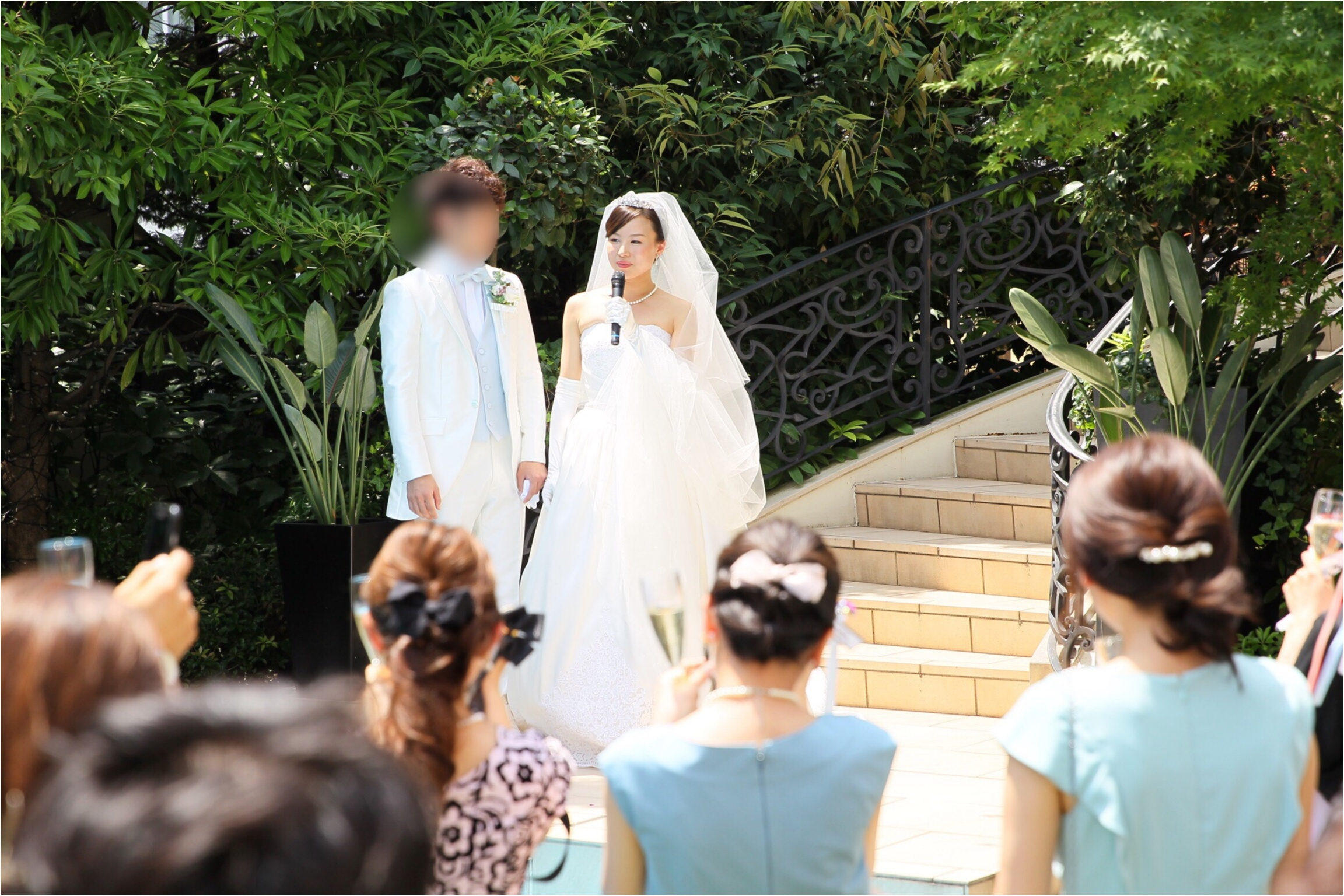 moco婚④▶︎ガーデンセレモニーはリボンワンズで華を添えて♡_6