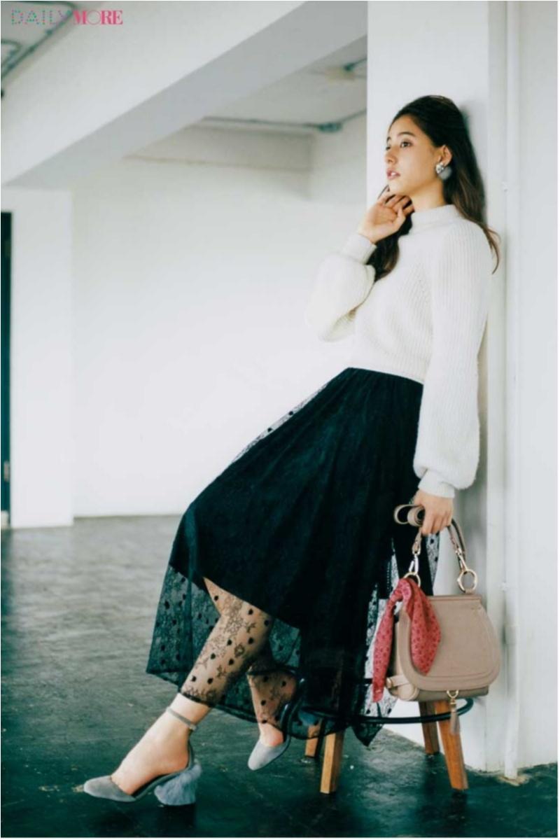 地味になりがちな冬こそ華やかに! 大人かわいい「フレアスカート」のコーデまとめ♡_1_20