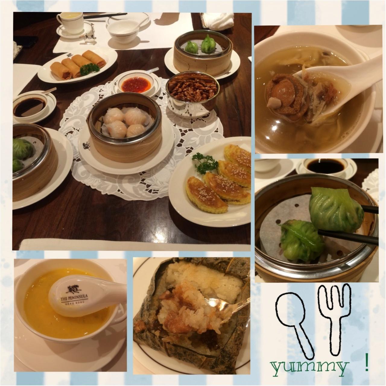 【vacation】香港のラグジュアリー飲茶ランチはThe Peninsula Hong Kongで!♡_2