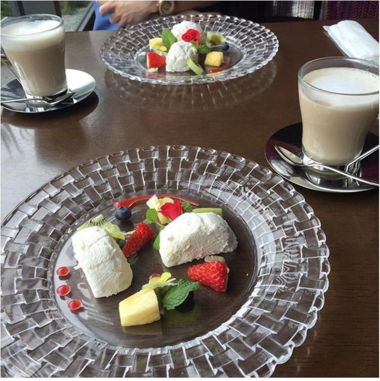 【FOOD】休日ランチは優雅にまったり♪絶品(驚)CARRY×クレームダンジュ♡_3
