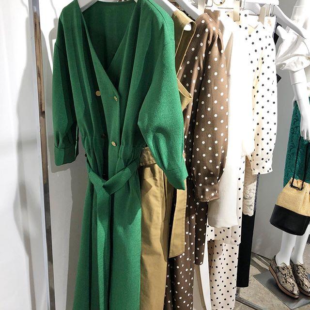 ドット柄のスカートや大人なワンピースも。新ブランド『EMMEL REFINES(エメル リファインズ)』をチェック!【 #副編Yの展示会レポート 】_2