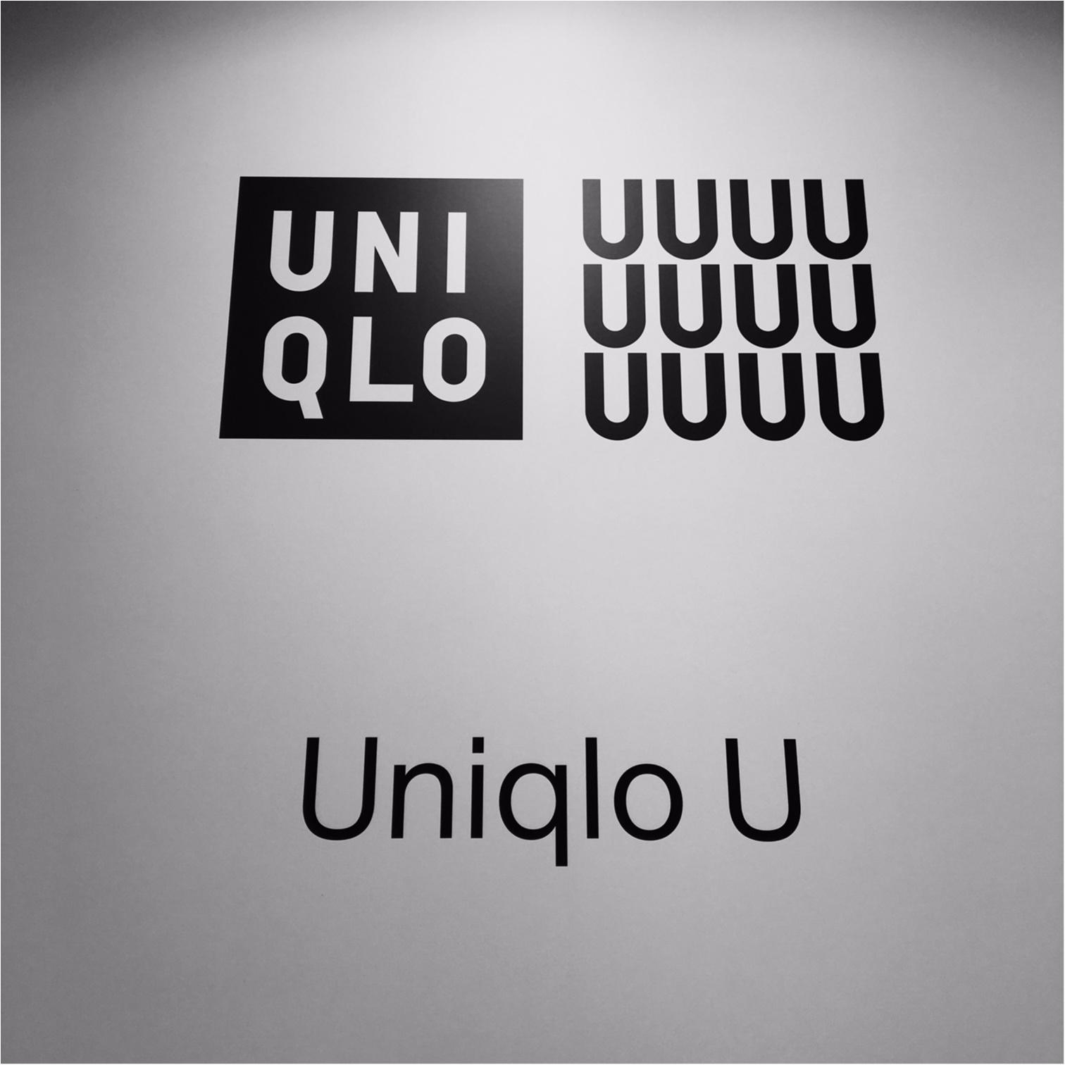 本日9/30から発売! 『Uniqlo U』でひと足お先に買ったモノ♡_2