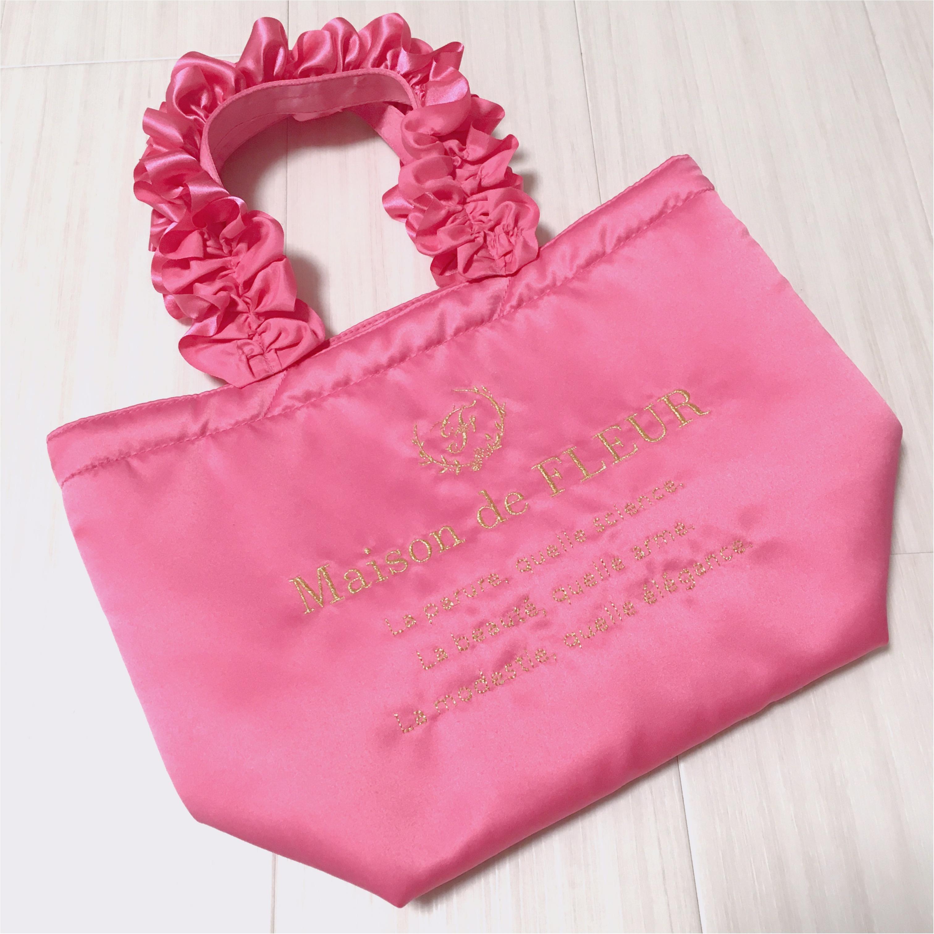 大人気!ピンクに囲まれる幸せ ♡ メゾンドフルールの《 ピンクマニア 》をGetしました♡_2